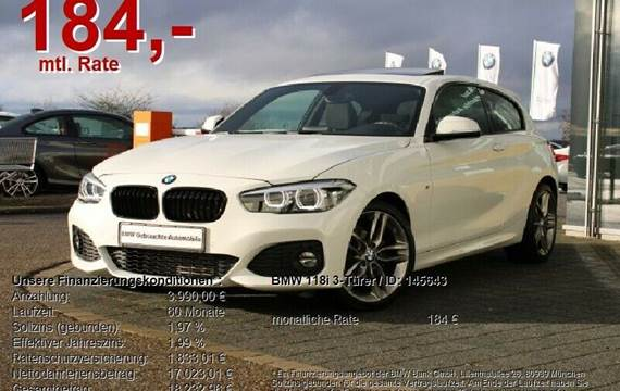 BMW 118i - 136 hk Hatchback 5dr
