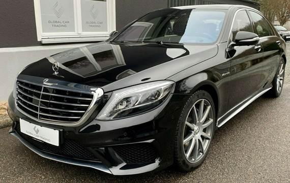 Mercedes S63 5,5 AMG aut. 4-M lang