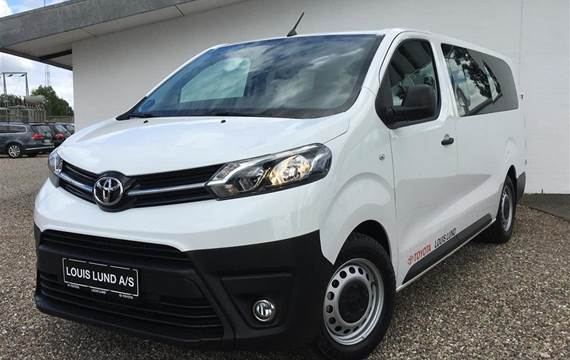 Toyota Proace Verso 1,5 Long  D Combi m/bagklap  6g