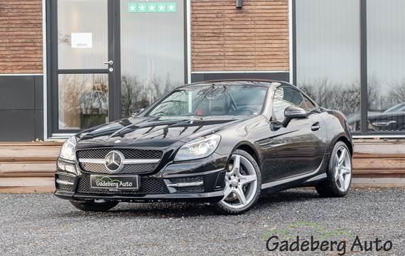 Mercedes SLK250 1,8 aut. BE