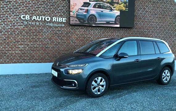 Citroën Grand C4 Picasso Blue HDi Iconic Limited EAT6 start/stop 120HK 6g Aut.