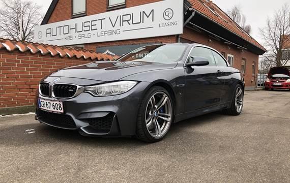 BMW M4 - 431 hk DCT ConvertibleOm Virksomheden: