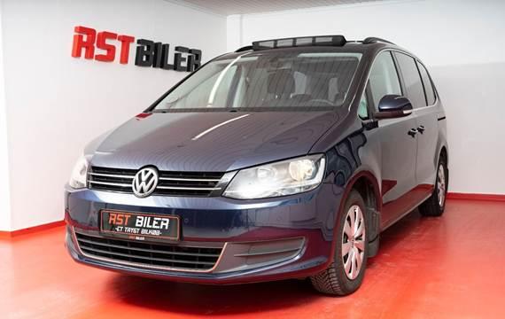 VW Sharan 2,0 TDi 140 Highline DSG 7prs