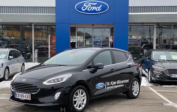 Ford Fiesta EcoBoost Titanium Start/Stop 125HK 5d 6g