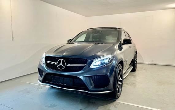 Mercedes GLE43 3,0 AMG Coupé aut. 4Matic