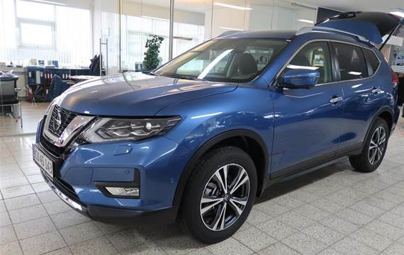 Nissan X-Trail 1,7 7 pers.  DCi N-Connecta X-Tronic  5d 6g Aut.