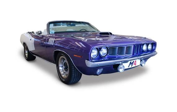 Plymouth Hemi Cuda Convertible