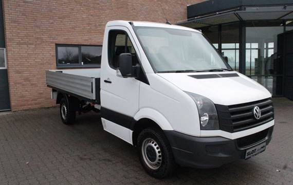 VW Crafter 2,0 TDi 163 Chassis m/alulad M