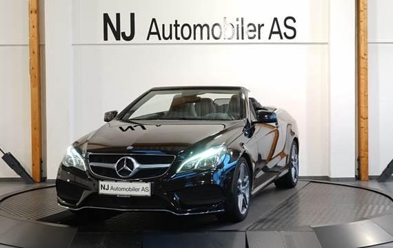 Mercedes E250 2,0 Cabriolet aut.