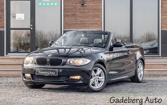 BMW 118i 2,0 Cabriolet