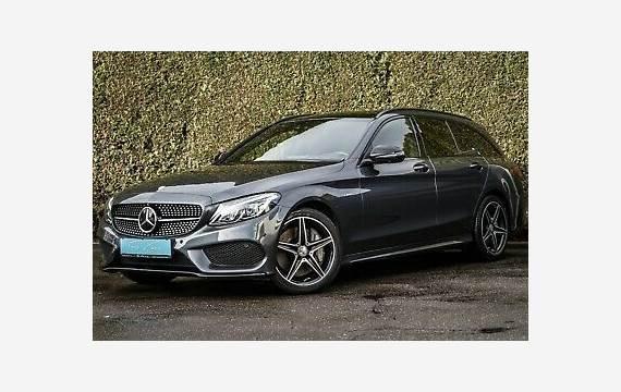 Mercedes C43 /43 AMG T 4M NIGHT|PANO|360°|HuD|STDHZ|LED