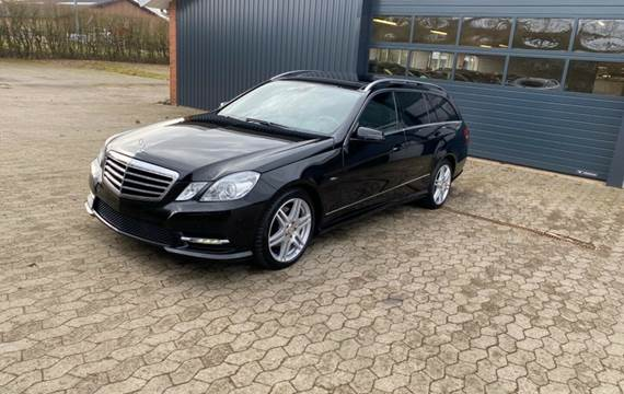 Mercedes E350 3,0 CDi Avantgarde stc. aut. 4Matic BE