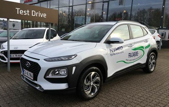 Hyundai Kona 1,6 HEV Advanced DCT