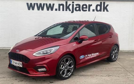 Ford Fiesta EcoBoost Hybrid ST-Line Start/Stop 155HK 5d 6g