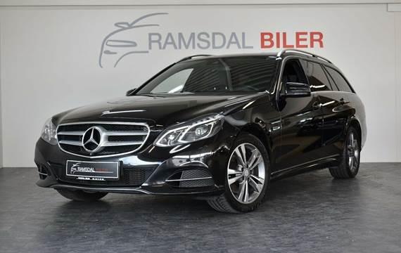Mercedes E350 3,0 BlueTEC Edition E stc aut. 4Matic