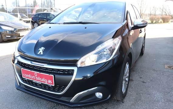 Peugeot 208 1,6 BlueHDi 100 Allure Sky