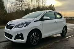 Peugeot 108 1,0 e-VTi 72 Edition:210+