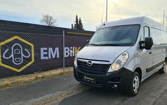 Opel Movano 2,3 CDTi 146 Db.Kab L3H1 RWD