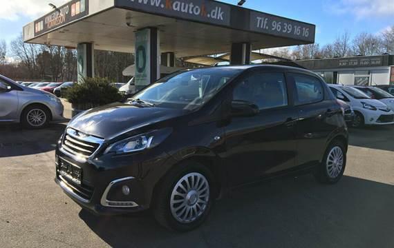 Peugeot 108 1,0 e-VTi 72 Active