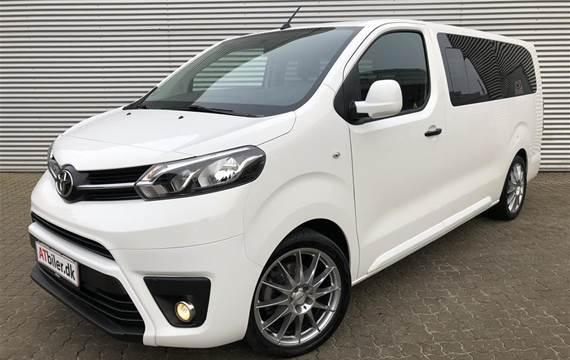 Toyota Proace Verso 2,0 Long  D Combi Luksuspakke  6g Aut.