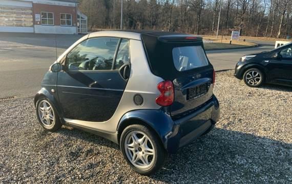 Smart ForTwo Cabrio 0,6 Passion 55 aut.
