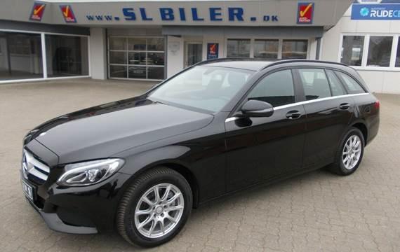 Mercedes C200 d 2,2 Business stc. aut.