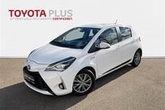 Toyota Yaris 1,5 B/EL H2 Exclusive E-CVT  5d Trinl. Gear