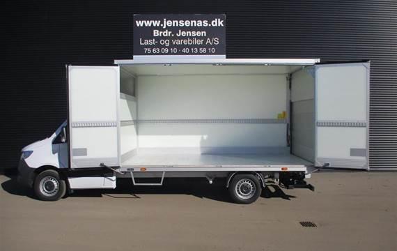 Mercedes Sprinter 2,1 319  CDI Alu. Kasse M./lift RWD 7G-Tronic  Ladv./Chas.