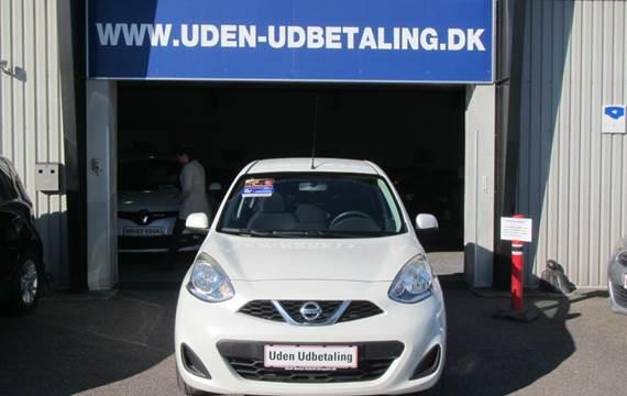 Nissan Micra 1,2 Acenta