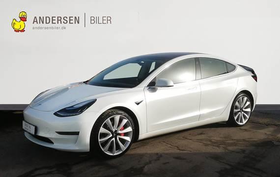 Tesla Model 3 EL Long Range Performance AWD 461HK Trinl. Gear