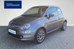 Fiat 500C 1,2 Eco Star Plus Start & Stop  Cabr.