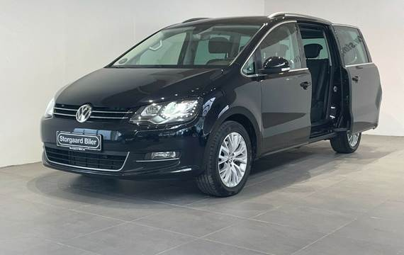 VW Sharan 2,0 TDi 184 Highline DSG 4M