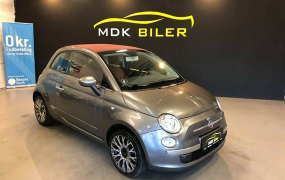 Fiat 500C 1,2 Opening Edition