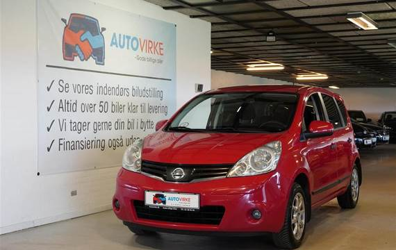 Nissan Note 1,5 DCi Visia  Stc