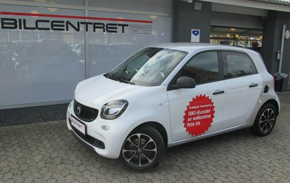 Smart ForFour 1,0 Pure