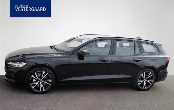 Volvo V60 2,0 B4  Mild hybrid R-design  Stc 8g Aut.