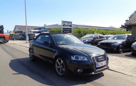 Audi A3 1,4 TFSi Ambition Cabriolet