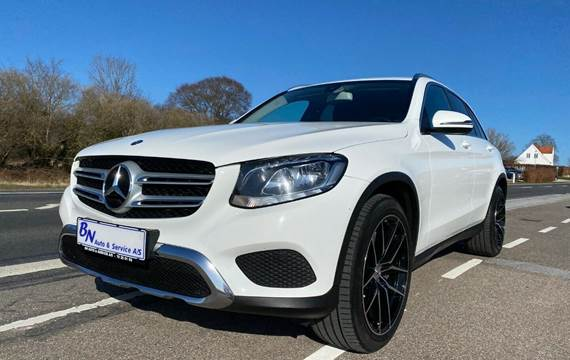 Mercedes GLC220 d 2,2 aut. 4Matic Van