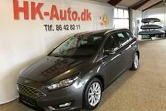Ford Focus EcoBoost Titanium 125HK 5d 6g                 A+