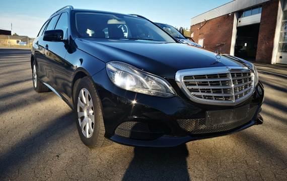 Mercedes E200 2,2 BlueTEC Edition E stc. aut.