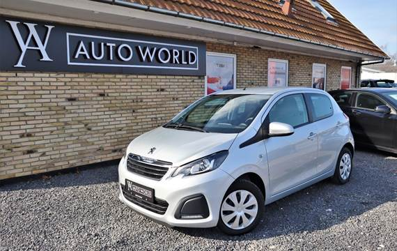 Peugeot 108 1,0 e-VTi 69 Active TOP!