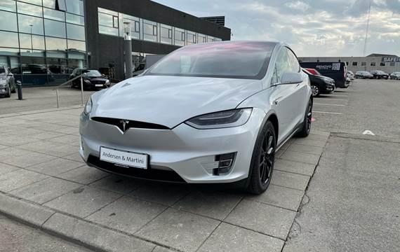 Tesla Model X P90D el EL 7 sæder 772HK 5d