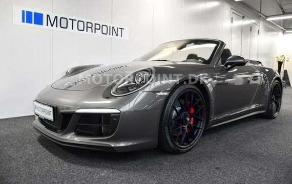 Porsche 911 Carrera GTS Cabriolet, Sport Chrono
