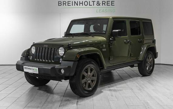Jeep Wrangler 3,6 Rubicon 75th Anniversary aut.