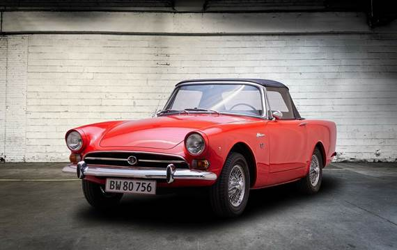 Sunbeam Alpine 1,7 Roadster