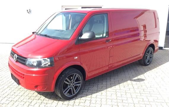 VW Transporter 2,0 TDi 114 Kassevogn lang BMT