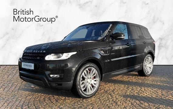 Land Rover Range Rover sport Land Rover Range Rover Sport 3,0 SDV6 HSE Dynamic aut. 5d