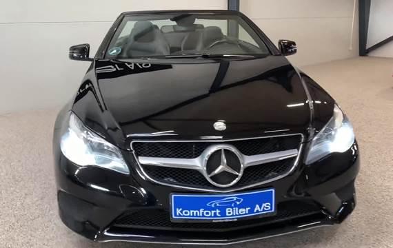 Mercedes E250 2,2 CDi Cabriolet