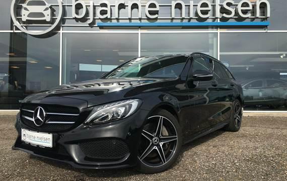 Mercedes C250 2,0 AMG Line stc. aut.