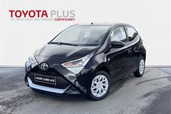 Toyota Aygo 1,0 VVT-I X-Play X-Shift  5d Aut.